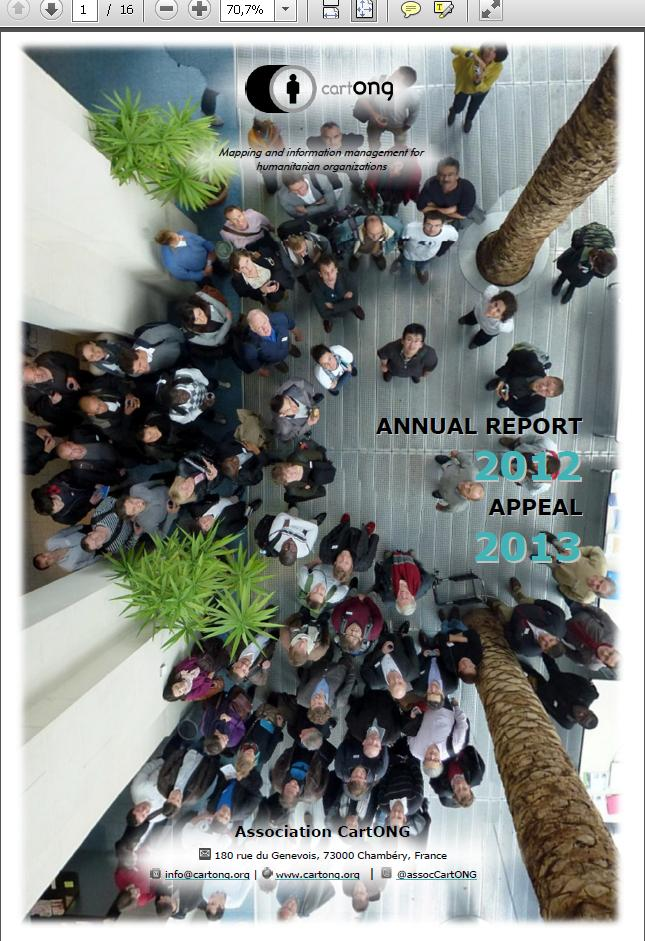Front cover Annual report