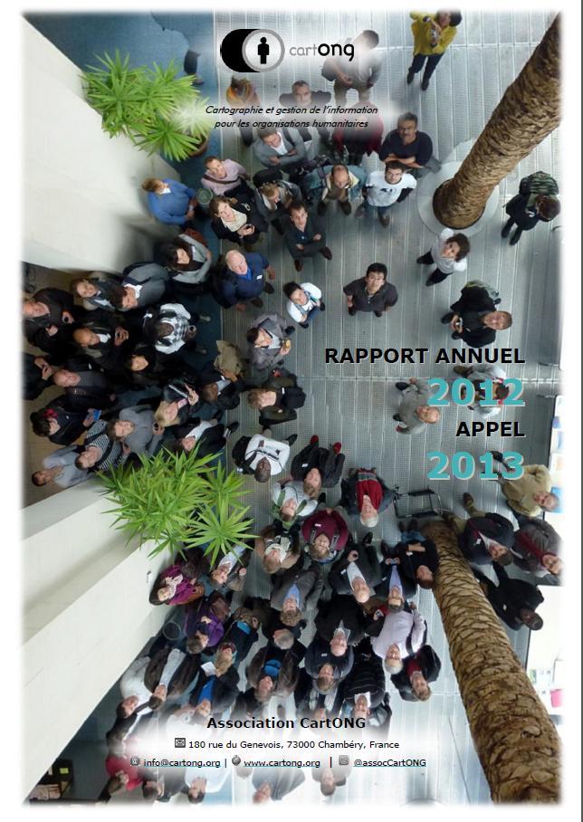 Couverture Rapport annuel 2012